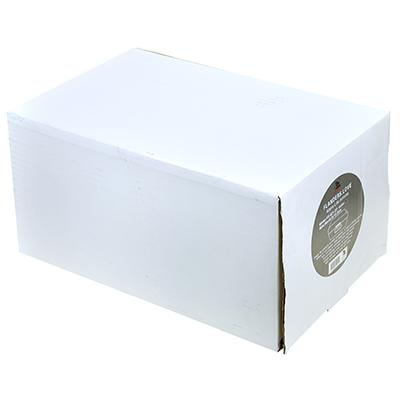 """- """"Flanders love"""" Контейнер (коробка) из нержавеющей стали, матовая эмаль - эффект велюра 30х18х15,5см """"Графит"""" с окном, герметичная крышка, в коробке (Китай)"""
