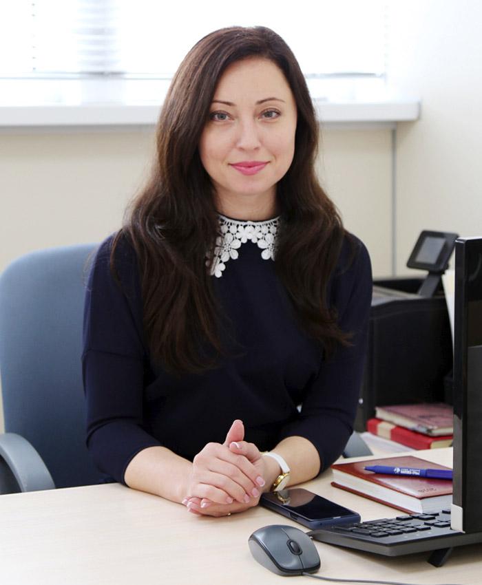 Ступнева Елена Васильевна - Руководитель отдела продаж