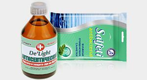 Антисептики и антибактериальные салфетки
